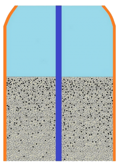 Scenario 3 : Only The Surface Is CleanedTrapped dirt/ sediments remain within the sand media. Only the surface is cleaned.